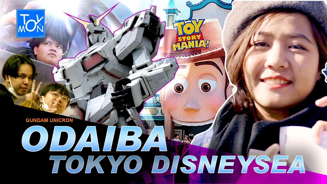 เที่ยว Odaiba Gundum Unicorn & Tokyo DesneySea - Toysmon