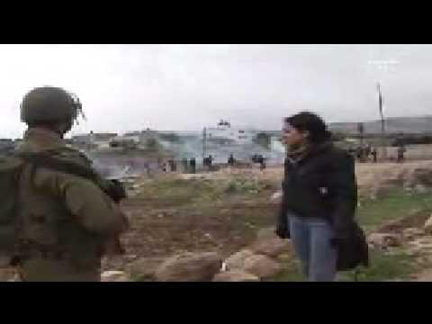 Palestinian Girl Vs. Israeli Soldiers