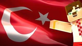 Minecraftta Yabancılara Türk Bayrağı Yaptırdık