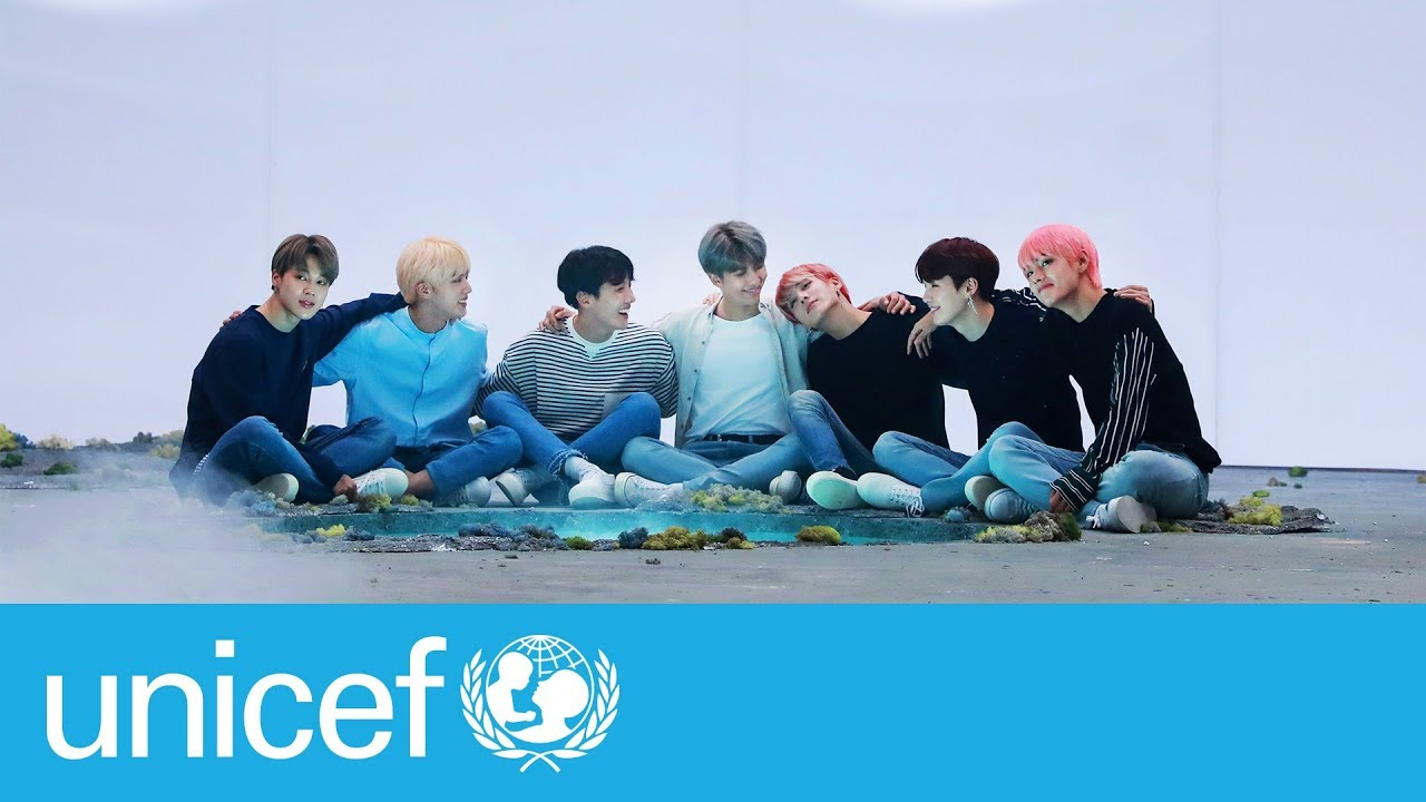 Bts Show The Power Of Love And Kindness Unicef Youtube
