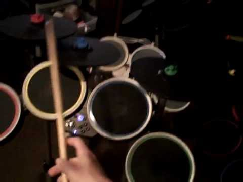 How Rock Band Drums Function In Guitar Hero 5, Warriors Of Rock And Band Hero On Nintendo Wii