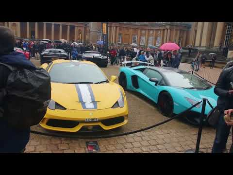 Some of the RAREST cars at Blenheim Palace!