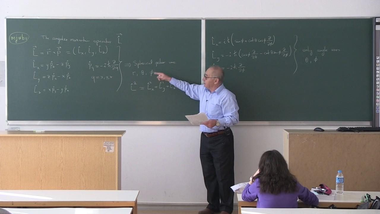 quantum chemistry lecture notes pdf