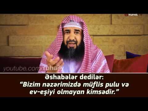 Sosial şəbəkələrdə savablarını xərcləyənlərə!!! - Şeyx Süleyman ər-Ruheyli