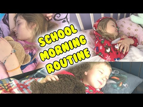 SCHOOL MORNING ROUTINE For 3 Kids!!! 😋😊😍