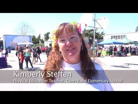 Fire Up Your Feet at Cherryland Elementary School