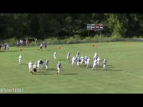 Trion Middle School Vs. Rossville Football Highlights