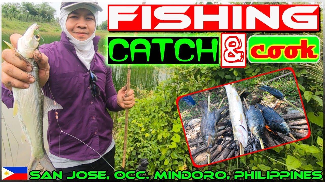 Harabas EP16 - Fishing -  Tilapia and Lady Fish (Bid bid) Catch and Cook