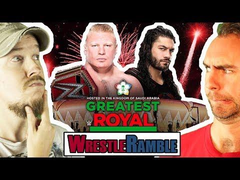 WWE Greatest Royal Rumble PREDICTIONS! | WrestleRamble