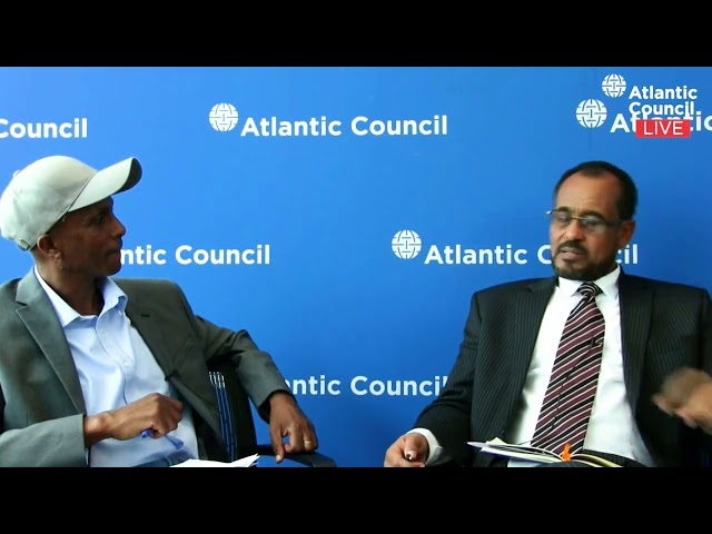 MUST WATCH: Bekele Gerba And Eskinder Nega's Live Conversation At The Atlantic Council