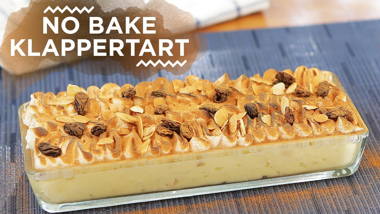 Resep No Bake Klappertaart Yuda Bustara Youtube