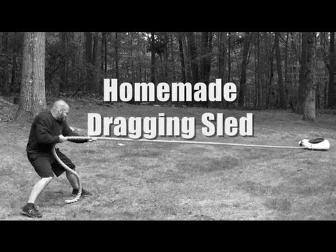 Homemade Dragging Sled (HD)