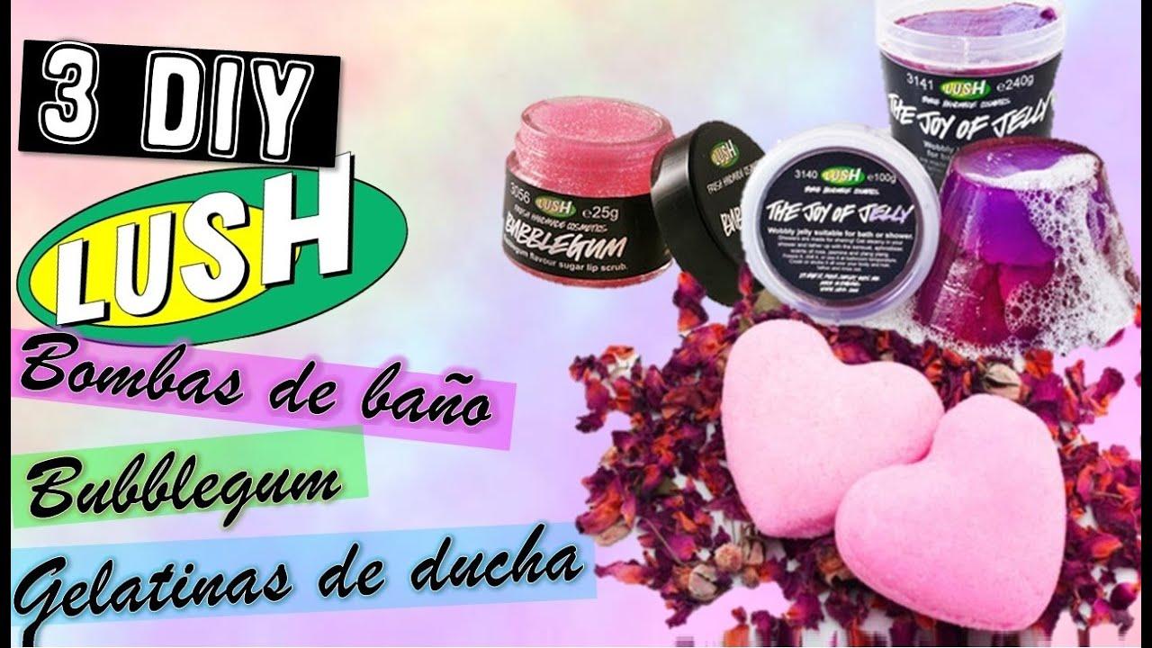 Diy lush bombas de ba o bubblegum gelatinas de ducha for Bombas de bano de lush
