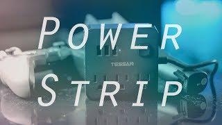 BEST Desktop/Travel Power Strip - TESSAN Power Strip