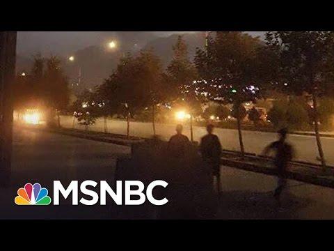 Student Who Escaped Kabul Attack Describes Scene | Andrea Mitchell | MSNBC