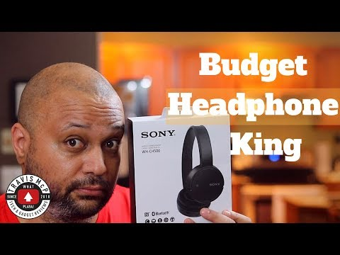 Sony WH-CH500 Bluetooth headphone unboxing and review - Budget Bass Beast!