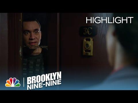 Jake And Amy Question A Neighbor | Season 1 Ep. 1 | BROOKLYN NINE-NINE