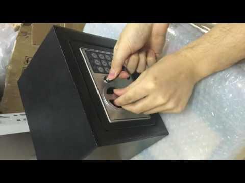 How to open Zeny® Digital Electronic Safe Security Box & How to open Zeny® Digital Electronic Safe Security Box - YouTube Aboutintivar.Com
