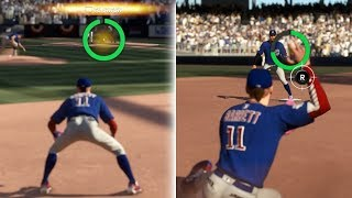 SUPER STRESSFUL DIVING DOUBLE PLAY IN THE PLAYOFFS! MLB THE SHOW 17