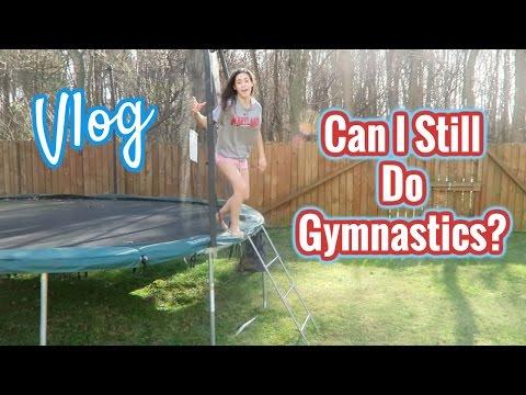 Can I Still Do Gymnastics? | VLOG | In Mad