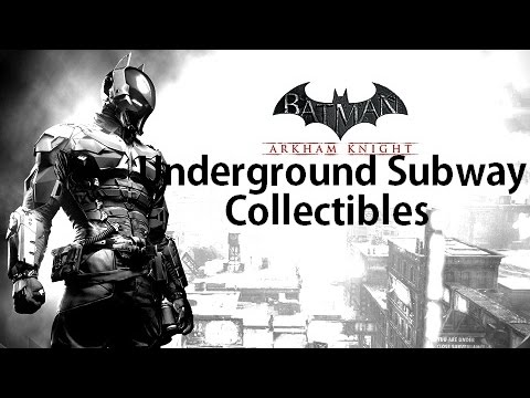 Arkham Knight Subway Map.Batman Arkham Knight Subway Under Construction Collectibles All Riddler Trophies Militia Shields