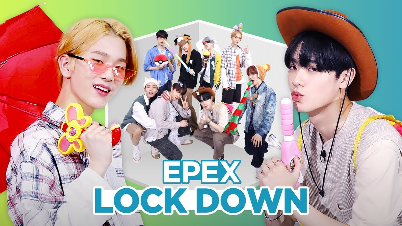 EPEX – Lock Down   PROP ROOM DANCE   세로소품실