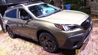 2020 Subaru Outback - Exterior and Interior Walkaround - Debut at 2019 NY Auto Show