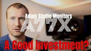 Adam A77x Studio Monitors Review & Unboxing
