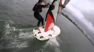 Windsurf Formula Passauna - Learning to planning and get into the straps
