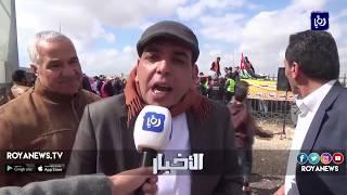 احتجاجات في الزرقاء تطالب بالتراجع عن قرارات رفع الأسعار - (16-3-2018)