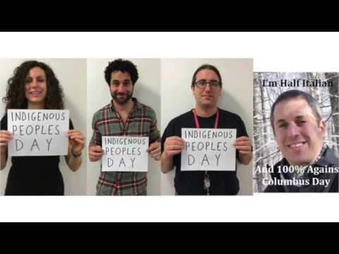 Italian Americans Speak for Indigenous Peoples Day