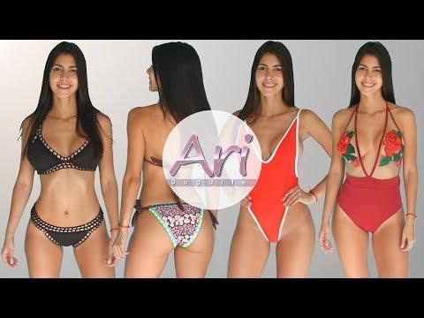 Bikini Try On Haul - Cuatro Bikinis De Diferentes Modelos De La Marca LEILANI