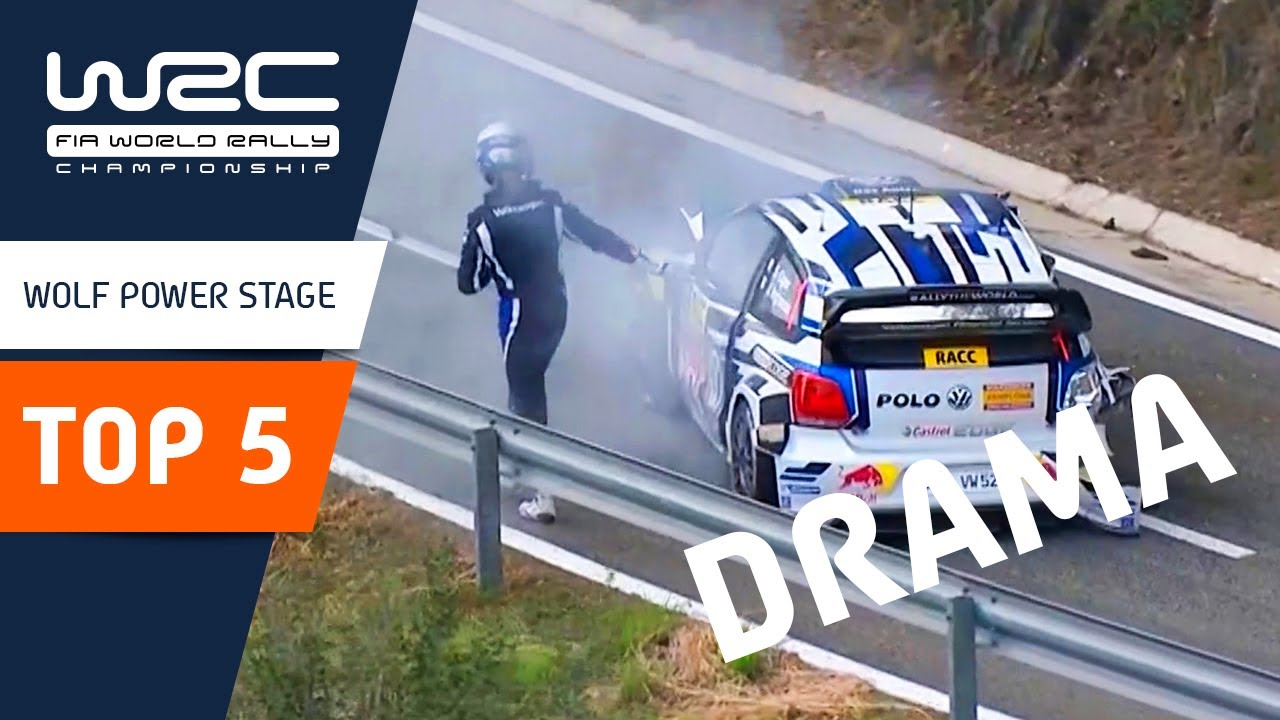 WRC: Top 5 Most Dramatic Wolf Power Stages 🤯