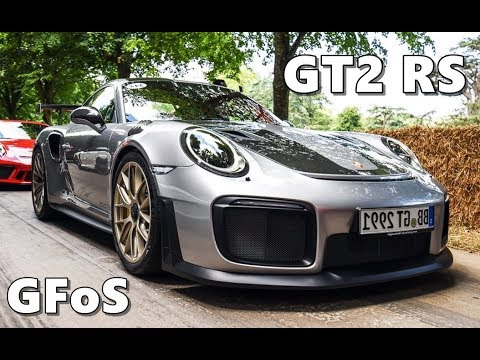 2018 porsche gt2 rs.  porsche 2018 porsche 911 gt2 rs at goodwood fos to porsche gt2 rs