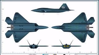 Ace Combat: Avions du Strangereal u0026 Prototypes/Le F-22C Raptor II #7