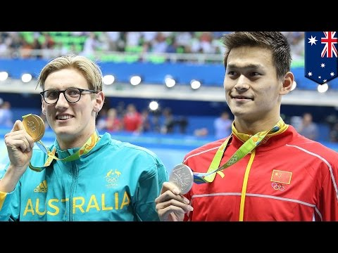 China pissed about Australian Mack Horton comments over Sun Yang doping at Rio 2016 - TomoNews