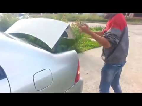 Locked Keys In Trunk >> How to open locked Toyota in 15 sec without a key: - YouTube