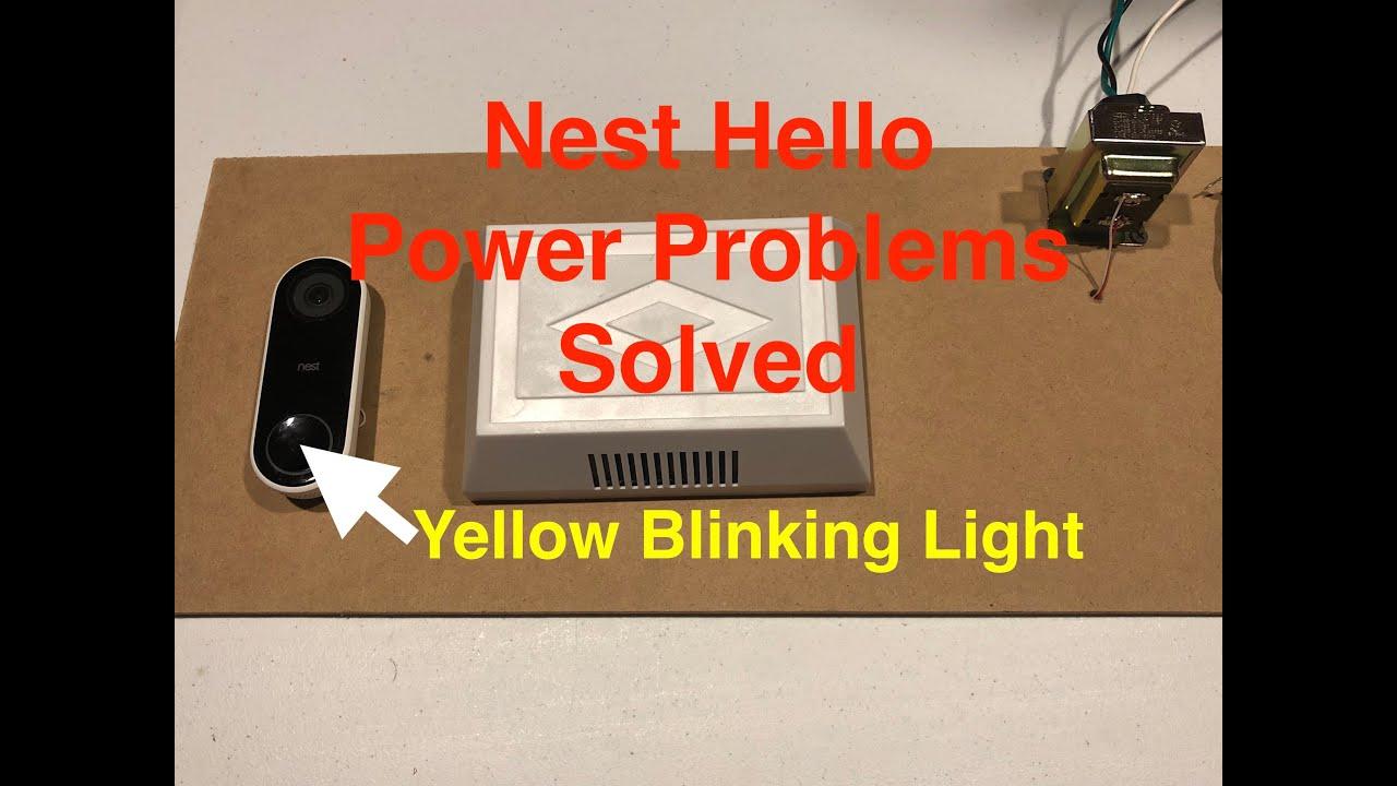 Fix Nest Hello Power Problems Youtube