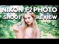 NIKON F2 REVIEW AND PHOTOSHOOT - Shooting Portraits on Film (Fuji Provia 100)