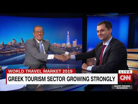 Greece's tourism sector growing strongly
