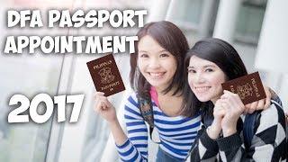 DFA Passport Appointment Online 2017