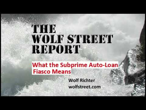 What The Subprime Auto-Loan Fiasco Means