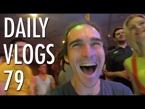 Party in Luxembourg | Louis Cole Daily Vlogs 79