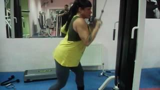 Tihonchuk Ludmila tricep workouts