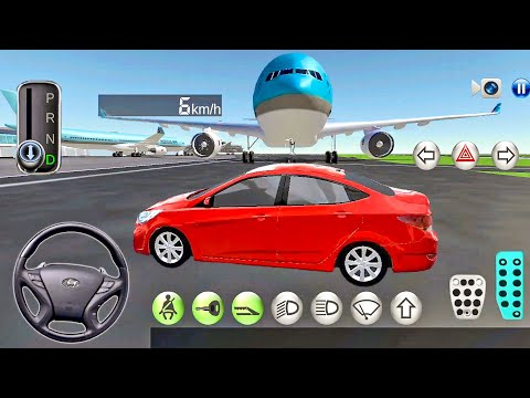 3D Driving Class #10 Free Ride in Airport! – Car Games Android Gameplay