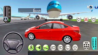 3D Driving Class #10 Free Ride in Airport! - Car Games Android Gameplay