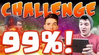 "Clash of Clans ""1 STAR 99% CHALLENGE!"" C.o.C. Challenge Series #5!"
