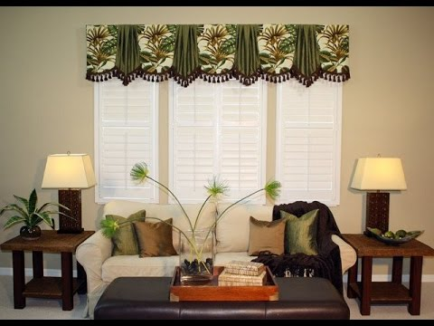 marburn curtains valances will add value to your living room - youtube