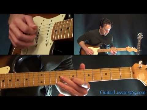 Sunday Bloody Sunday Guitar Lesson - U2