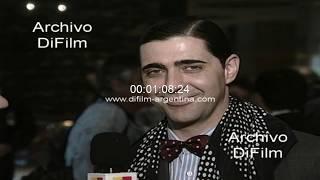 Angel Rico en el Festival Internacional de Cine de Mar del Plata 1996